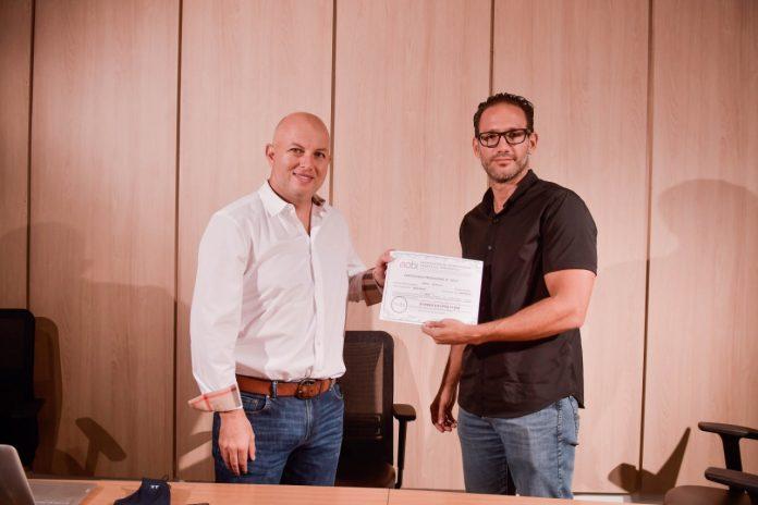 Andres Kieffer y Gustavo Pereira representante de MOBI